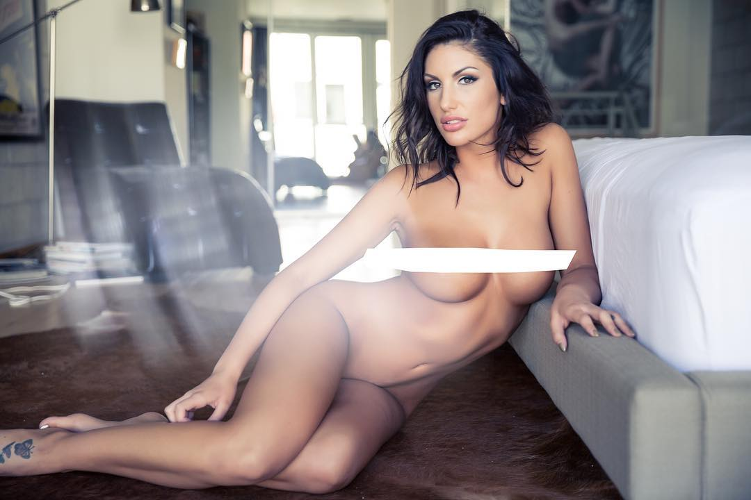 OnlyFans: August Ames censored picture